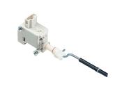 VW Fuel Filler Door Lock Actuator - VDO X10729002014