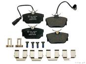 VW Brake Pad Set - Textar 7M3698451F