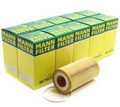 Volvo Engine Oil Filter (Case of 10) - Mann 8692306