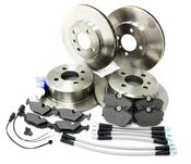 BMW Brake Kit With Stainless Lines - E30BK3
