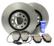 Audi VW Brake Kit - Zimmermann/Akebono D2A8BRK1