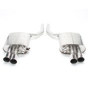 BMW Free Flow Exhaust with Polished Tips (F10 550i) - Dinan D660-0036