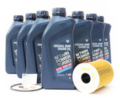 BMW Oil Change Kit 10W-60 - Genuine BMW 11427840594KT