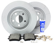 Audi VW Brake Kit - Zimmermann/Textar B8S4BRK1