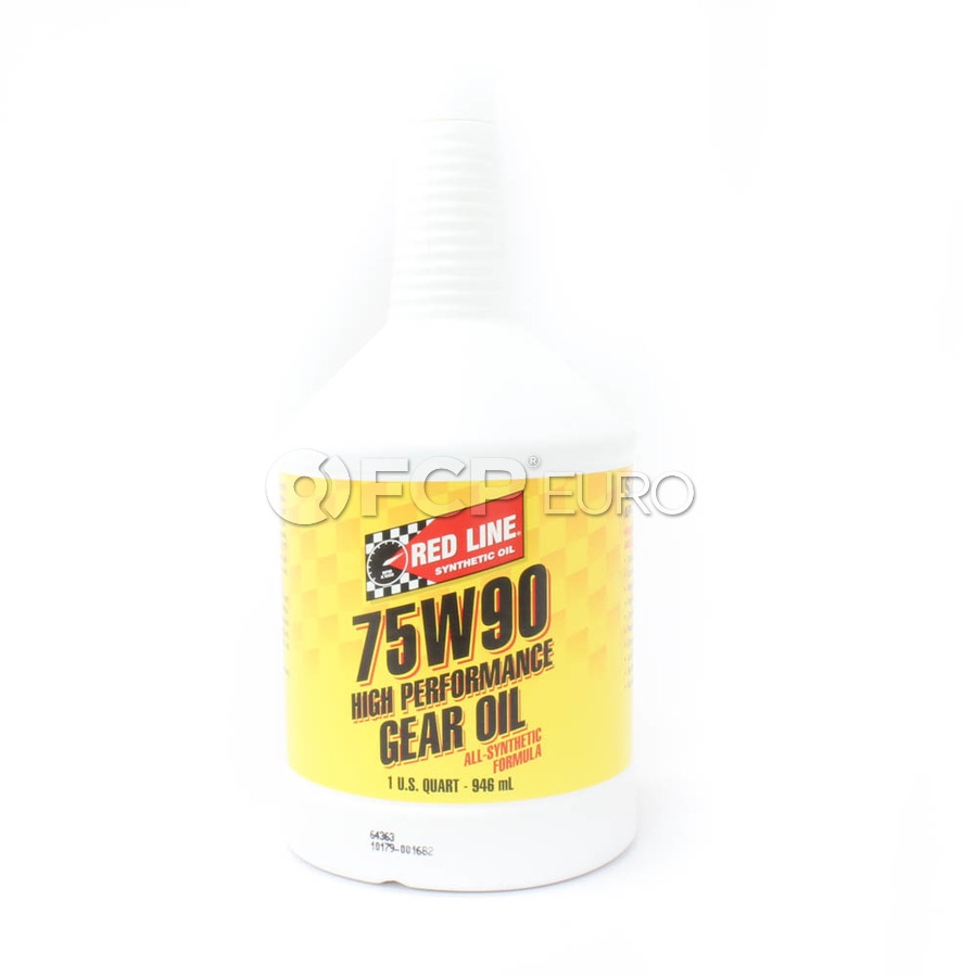 75W90 GL-5 Gear Oil (1 Quart) - Red Line 57904