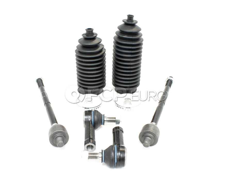 Volvo Tie Rod Kit Inner & Outer (240 244 245) - Lemforder KIT-512740