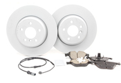 BMW Brake Kit - Zimmermann/Akebono 34116884301KTF1