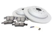 Mercedes Brake Kit - Zimmermann W164RBKSOLID