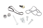 BMW Engine Oil Filter Housing Gasket Kit - 11428637821KT2