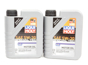 BMW 5W30 Oil Change Kit - Liqui Moly 11427512300KT4