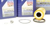 VW Audi Oil Change Kit 5W-40 - Liqui Moly KIT-06E115562C.9L