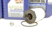 VW Audi Oil Change Kit 5W-40 - Liqui Moly KIT-079198405E.9L