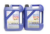 VW Audi Oil Change Kit 5W-40 - Liqui Moly KIT-07C115562E.12L