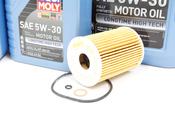 Mercedes Diesel Oil Change Kit 5W-30 - Liqui Moly 6421800009KT