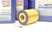 BMW Oil Change Kit 5W-40 - Liqui Moly 11427542021KT.LM