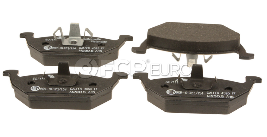 VW Brake Pad Set - ATE 5C0698151