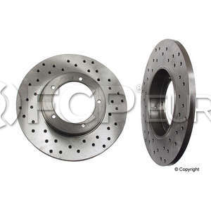 Porsche Brake Disc - Zimmermann Sport 460100550