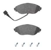 Audi VW Brake Pad Set - ATE 8V0698151C