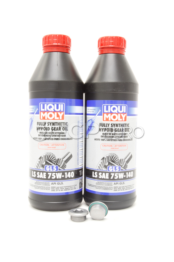 BMW Differential Service Kit 75W140 - Liqui Moly 33117525064KT7