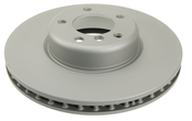 BMW Brake Disc - Zimmermann 34116792223