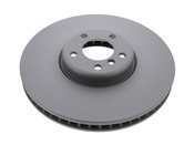 BMW Brake Disc -Zimmermann 34116789544