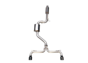 VW Catback Exhaust System - AWE Tuning 301533050