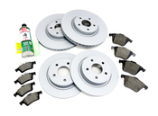 Volvo Brake Kit - Zimmermann KIT-534972