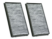 BMW Charcoal Cabin Air Filter Set - Corteco 64119272643