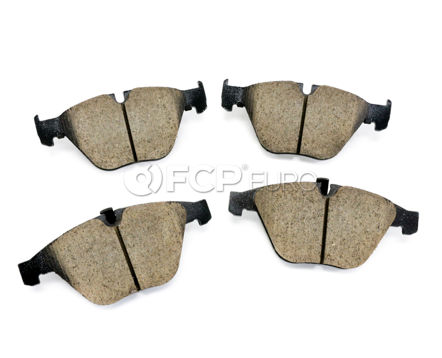BMW Brake Pad Set - Akebono EUR918