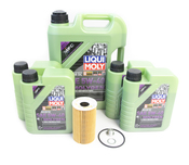 Porsche Engine Oil Change Kit (5W-40) - Liqui Moly Molygen KIT-538469M