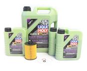 BMW Oil Change Kit 5W-40 - Liqui Moly Molygen 11427542021KT.LM