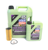 BMW 5W40 Oil Change Kit - Liqui Moly Molygen 11428575211KT3