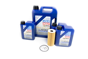 Porsche Engine Oil Change Kit (5W40) - Liqui Moly/Mahle 9A110722400KT2