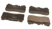 Mercedes Disc Brake Pad Set - TRW 0074207220