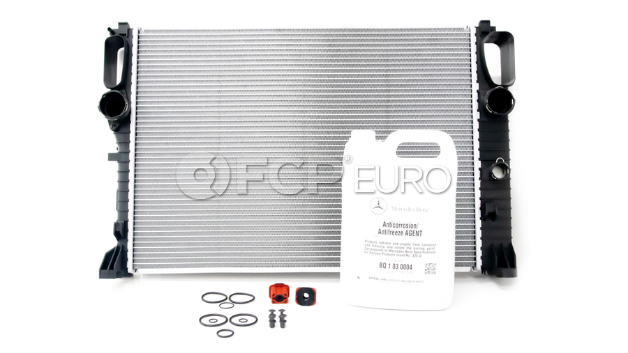 Mercedes Radiator Replacement Kit - Nissens 2115003402