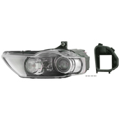 VW Headlight Assembly - Valeo 3C0941754M