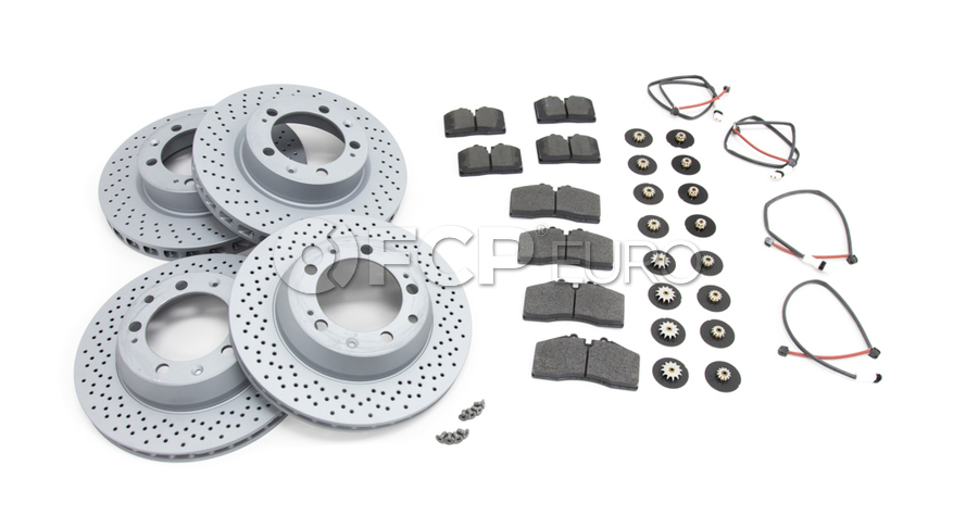 Porsche Brake Kit - Zimmermann/Pagid 993BK1
