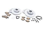 BMW Brake Kit - Zimmermann/Akebono 34106879122KTFR