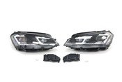 VW Headlight Assembly Upgrade Kit - Helix HVWG7HL75C2