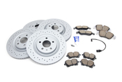 Audi VW Brake Kit - Zimmermann/Akebono 4G0615301KT4