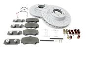Porsche Brake Kit - Zimmermann/Textar 997BRKT5