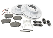 Porsche Brake Kit - Zimmermann/Textar 987BRKT