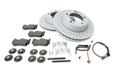 Porsche Brake Kit - Zimmermann/Textar 987BRKT3