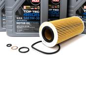BMW Diesel Oil Change Kit 5W-30 - Liqui Moly 11427788460KT.LM.4605