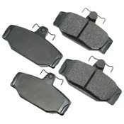 Volvo Brake Pad Set - Akebono 31261186