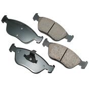 Volvo Brake Pad Set - Akebono 31341243