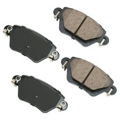 Jaguar Brake Pad Set - Akebono C2S52080