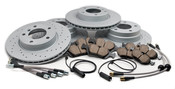 Brake Brake Kit - Akebono/Zimmermann E36BK1