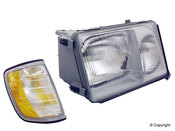 Mercedes Headlight Assembly - Magneti Marelli 1248209059
